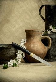Нож «Кавказский» в кожаных ножнах