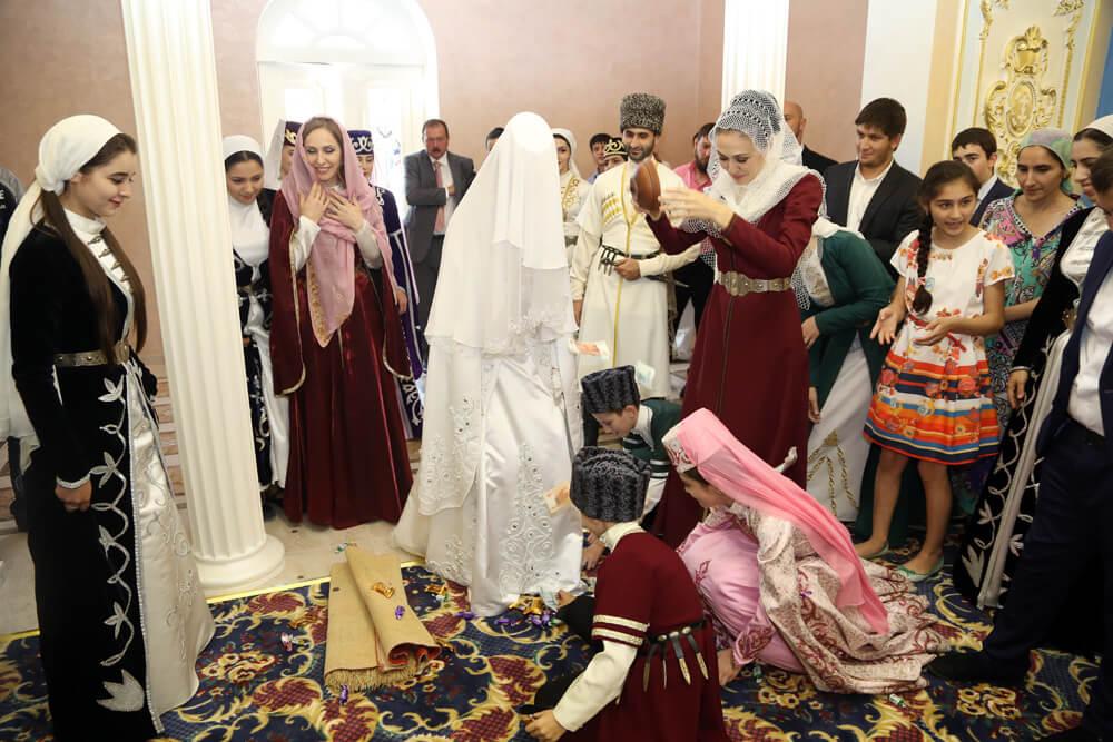 Традиционная ингушская свадьба