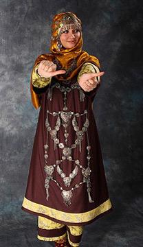 Дагестанское платье