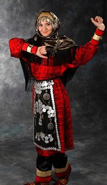 Национальный женский наряд