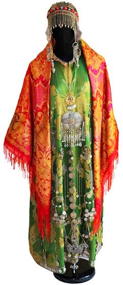 Дагестанское традиционное платье