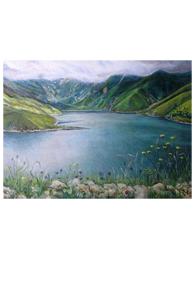 Картина «Чечня, озеро Кезеной-Ам» - 2