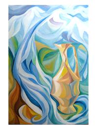 Картина «Горный ручей»