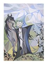 Авторская живопись «Горский воин»