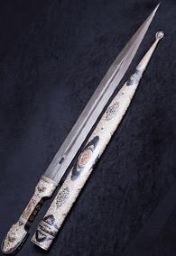 Коллекционный кинжал с подкинжальным ножом