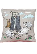 Декоративная подушка «Пасторальный сюжет»