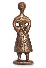 Скульптура «Джигит в папахе»