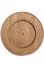 Панно круглое с орнаментом