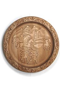 Блюдо с орнаментом «Охота»
